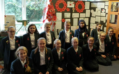 Dover Grammar School for Girls – Remembrance Press Release
