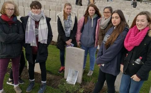Moving History trip to Belgium to commemorate centenary of WW1 Armistice
