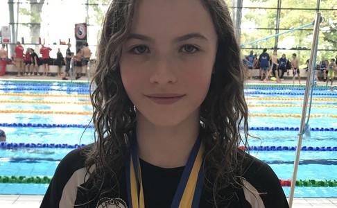 Year 7 Emily-Rose Evans Fantastic Swimming Achievement