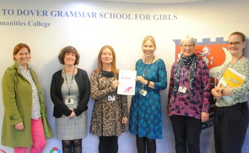 British Council International School Award success for Dover Grammar School for Girls